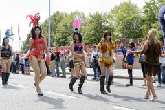 Antwerp Gay Pride 2014 Royalty Free Stock Photo
