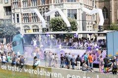 Antwerp glad stolthet 2014 Royaltyfria Foton