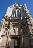 Antwerp - Gothic south portal of St. Jacobs church (Jacobskerk) Stock Images