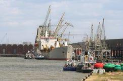 Antwerp Harbor Stock Photo