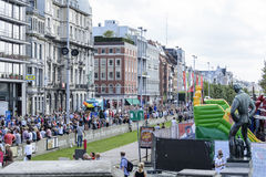 Antwerp Homoseksualna duma 2014 Obraz Royalty Free