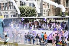 Antwerp Homoseksualna duma 2014 Obrazy Royalty Free