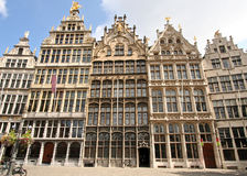 Antwerp Houses Royalty Free Stock Photography