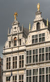 Antwerp Houses Stock Photo