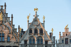 Antwerp houses Stock Images