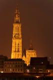 antwerp katedra Zdjęcia Royalty Free