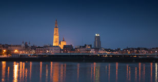 Antwerp linia horyzontu Zdjęcie Royalty Free