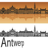 Antwerp linia horyzontu Obraz Stock