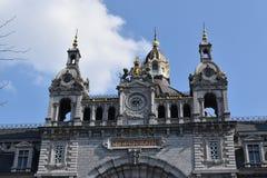 Antwerp några kilometer från Bryssel fotografering för bildbyråer