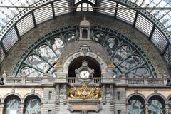 Antwerp några kilometer från Bryssel arkivbilder