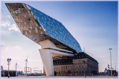 Antwerp new port building, by Zaha Hadid Stock Image