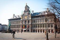 Antwerp old town, Belgium Stock Images