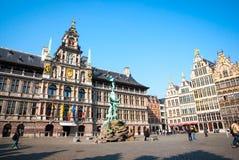 Antwerp old town, Belgium Stock Photo