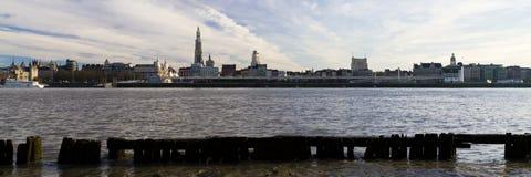 Antwerp Panorama Stock Photography