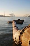 antwerp port royaltyfri bild
