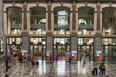 Antwerp railway Stock Images