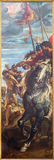Antwerp - The right panel from triptych Raising of the cross (1609 - 1610) by P. P. Rubens in the cathedral. Stock Image