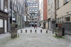 Antwerp's diamond district Royalty Free Stock Photos