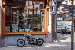 Antwerp street Stock Image