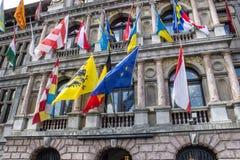 Antwerp townhall Royalty Free Stock Photo