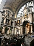Antwerpen station royalty free stock image
