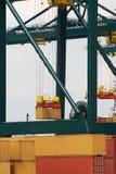 antwerp zbiornika port Obraz Royalty Free