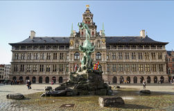 Antwerpen Lizenzfreie Stockfotografie