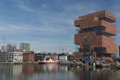Antwerpen, Belgium. MAS museum at Antwerpen, Belgium royalty free stock images
