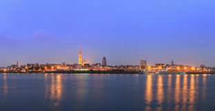 Antwerpen-Blaustunde lizenzfreie stockbilder