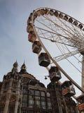 Antwerpen-Centraal railway station stock photo