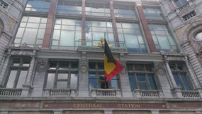Antwerpen, Centraal stacja obraz stock
