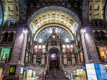 Antwerpen Central Station Royalty Free Stock Image