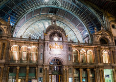 Antwerpen Central Station Royalty Free Stock Photography