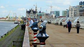 Antwerpen docklands (Βέλγιο) Στοκ εικόνες με δικαίωμα ελεύθερης χρήσης