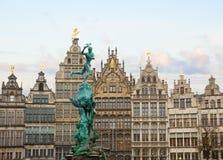 Antwerpen Grote Markt Photo libre de droits