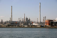 Antwerpen-Hafenindustrien Lizenzfreies Stockbild