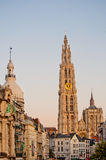 Antwerpen-Kathedrale Stockfotos