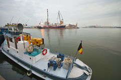 Antwerpen Port Royalty Free Stock Photography