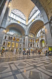 Antwerpen Railway Station Stock Image