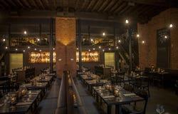 Antwerpen restaurang Fotografering för Bildbyråer
