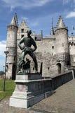 Antwerpen-Schloss lizenzfreie stockfotos