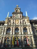 City Hall on the Great Market Square of Antwerp, Belgium Royalty Free Stock Photos