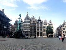 Antwerpenstad royalty-vrije stock foto's