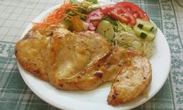 Anty-Korpulenz-Mittagessen Stockfotos