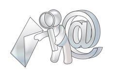 anty poczęcia defence emaila wirus Obrazy Royalty Free