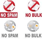 anty - post zbiorczej spam obrazy stock