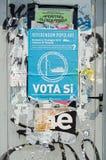 Anty statku wycieczkowego plakat, Wenecja Fotografia Royalty Free