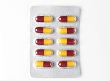 Antybiotyczna kapsuła Fotografia Stock