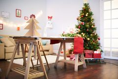 Antycypacja Boże Narodzenia obraz royalty free