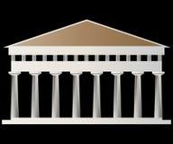 antyczna świątynia Fotografia Stock